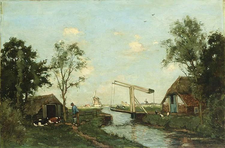 BAREND BROUWER DUTCH 1872-1936