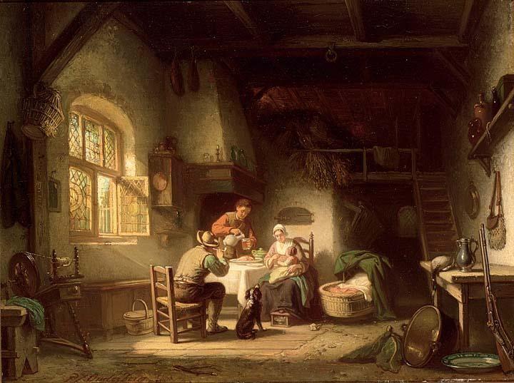 PIETER JAN ONDERBERG DUTCH, 1821-1890