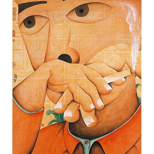 Zhu Wei B. 1966 , Sketch - No. 1