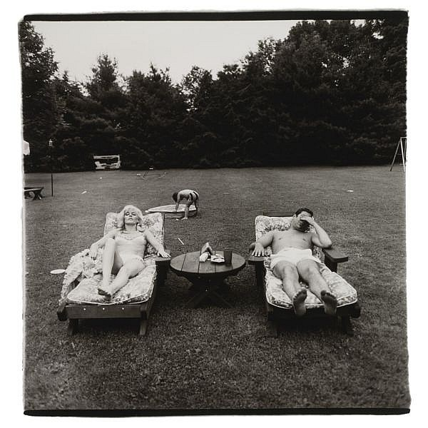Diane Arbus , 1923-1971 'a family on the lawn one sunday in westchester, n. y.'