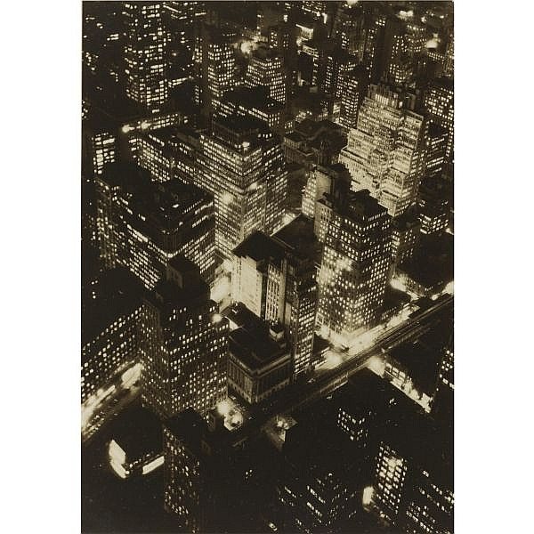 Berenice Abbott , 1898-1991 new york at night