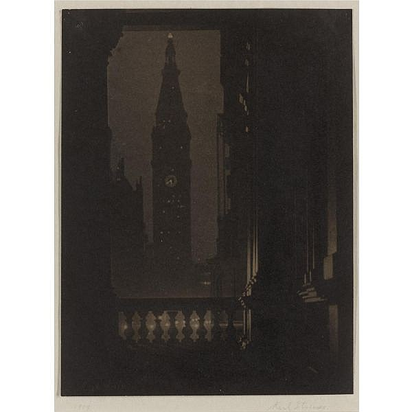 Karl Struss , 1886-1981 'metropolitan tower--twilight'