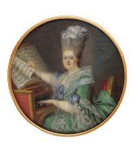 JEAN LAURENT MOSNIER | Portrait of Princess Clothilde, later Queen of Sardinia (1759-1802)