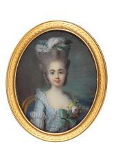 JEAN LAURENT MOSNIER | Portrait of a lady