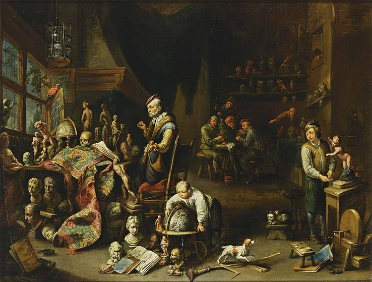 GERARD THOMAS ANTWERP 1663 - 1720