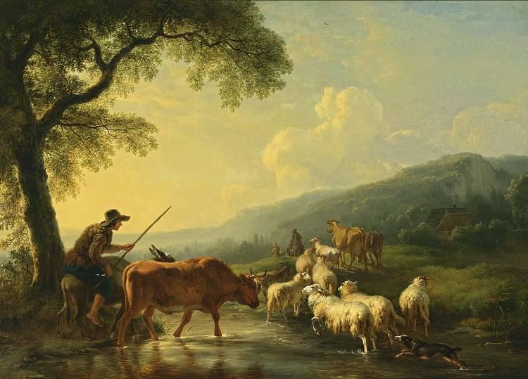BALTHASAR PAUL OMMEGANCK ANTWERP 1755 - 1826