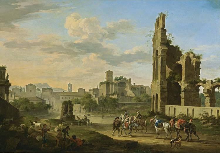 JACOB DE HEUSCH UTRECHT 1656 - 1701 AMSTERDAM