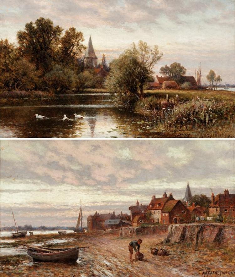 ALFRED AUGUSTUS GLENDENING, 1840-1910