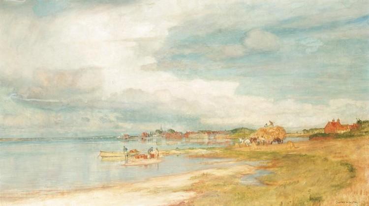 CHARLES WILLIAM WYLLIE, 1853-1923
