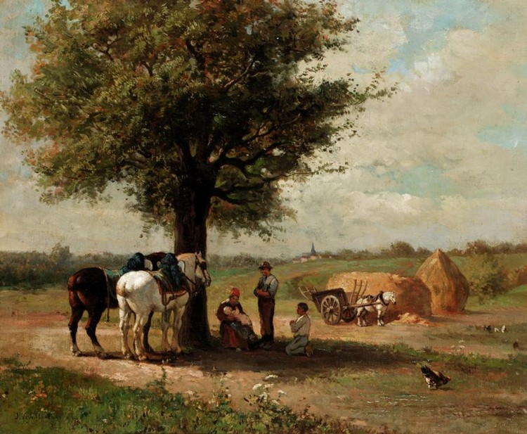 JULES-JAQUES VEYRASSAT, FRENCH 1828 - 1893