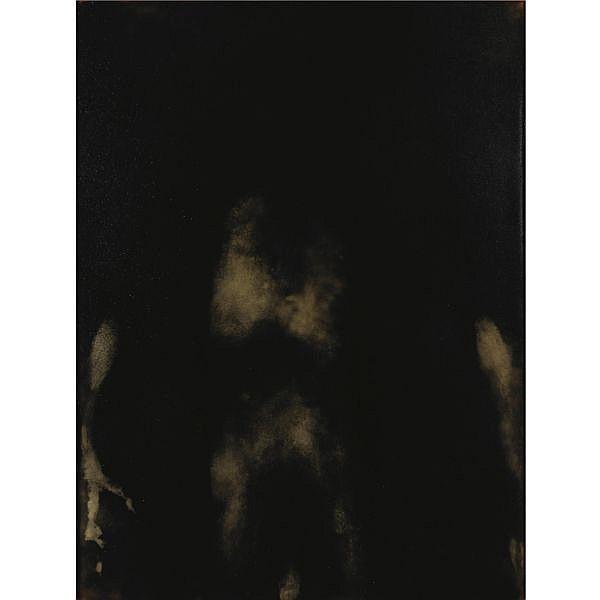 - Giovanni Manfredini , n. 1963 Tentativo di esistenza calco corporeo e tecnica mista su tavola in cornice metallica