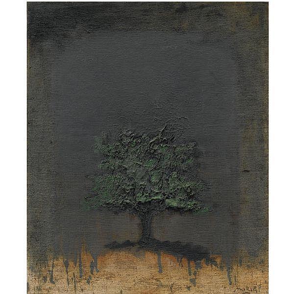 - Carlo Mattioli , 1911 - 1994 Notturno olio su tela