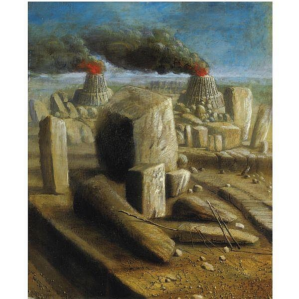 - Ivan Theimer , n. 1944 Bec-de-jus olio su tela