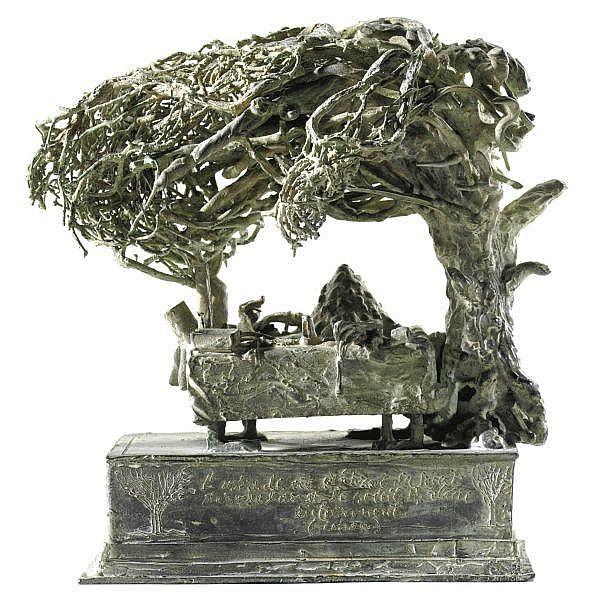 - Ivan Theimer , n. 1944 Senza titolo bronzo patinato