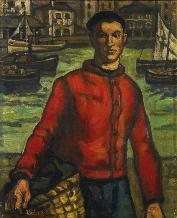 JOSÉ GUTIÉRREZ SOLANA | Marinero Rojo (The Sailor from Santander)