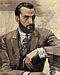 YURI PAVLOVICH ANNENKOV, 1889-1974, Yury Annenkov, Click for value