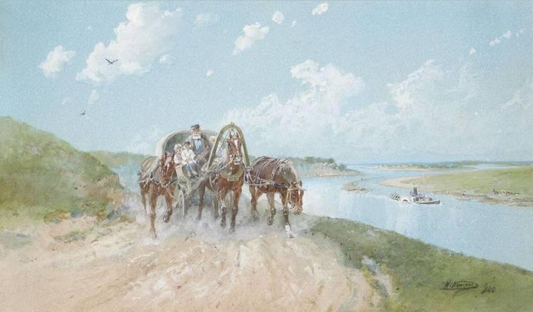 f - NIKOLAI NIKOLAEVICH KARAZIN, 1842-1908