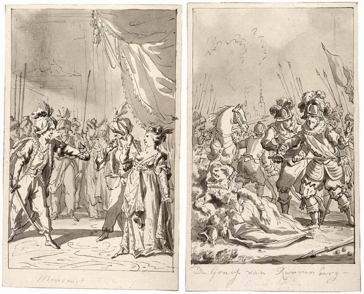 REINIER VINKELES AMSTERDAM 1741 - 1816