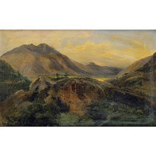 f - Jules-Louis-Philippe Coignet Paris 1798 - Paris 1860 , Bagnères de Luchon, Pyrénées