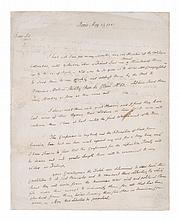 ADAMS, JOHN. AUTOGRAPH LETTER SIGNED TO ANTOINE-MARIE CERISIER. PARIS, FRANCE, MAY 13, 1783.
