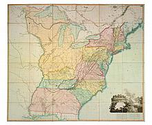 ARROWSMITH, AARON. A MAP OF THE UNITED STATES OF NORTH AMERICA. LONDON, [1802]