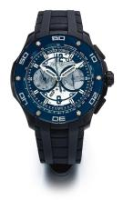 ROGER DUBUIS | AN OVERSIZE DLC TITANIUMAUTOMATIC CHRONOGRAPH WRISTWATCH WITH REGISTER<br /> NO 1190 PULSION CHRONOGRAPH CIRCA 2010