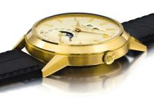 PATEK PHILIPPE | A VERY FINE AND IMPORTANT YELLOW GOLD AUTOMATIC PERPETUAL CALENDAR WRISTWATCH WITH MOON PHASES<br />REF 3448 MVT1119082 CASE328477MADE IN 1968