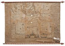 BLAEU. WALL MAP OF SOUTHEAST ASIA AND AUSTRALIA [1659]