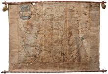 BLAEU. WALL MAP OF ASIA [1659]