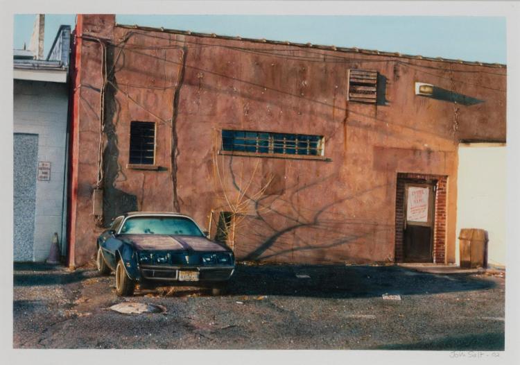 JOHN SALT | Untitled (Orange Wall)