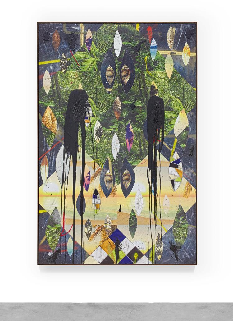 RASHID JOHNSON | Untitled Escape Collage
