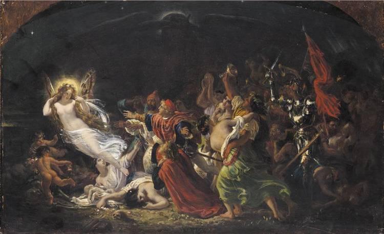 f - SIR JOSEPH NOËL PATON R.S.A. 1821-1901