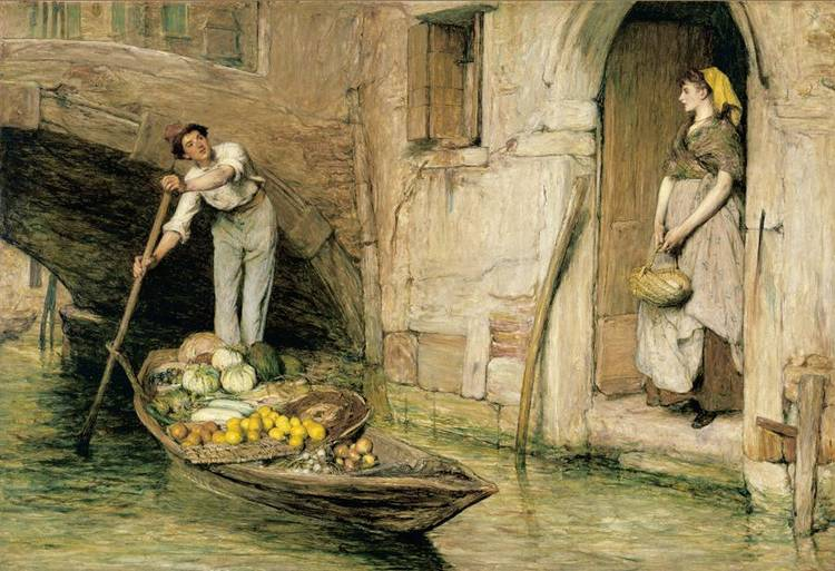 f - SIR WILLIAM QUILLER ORCHARDSON R.A. 1832-1910