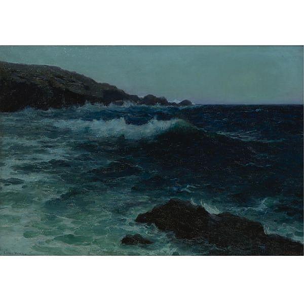 Lionel Walden 1861-1933 oil on canvas