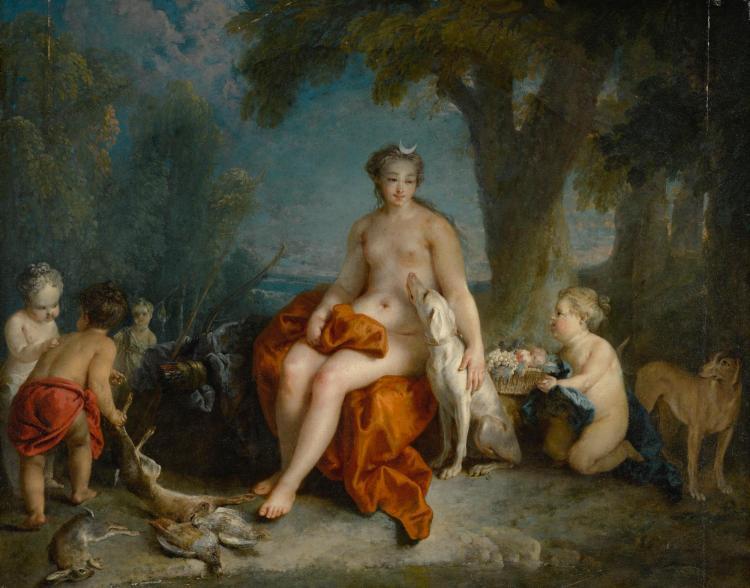AUGER LUCAS | Diana resting after her bath