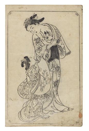 NISHIKAWA SUKENOBU (1671-1750)