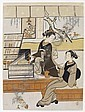SUZUKI HARUNOBU (1725-1770), Suzuki Harunobu, Click for value
