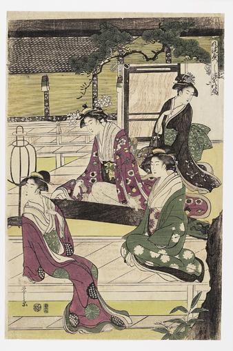 HOSODA EISHI (1756-1829)