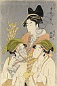 KITAGAWA UTAMARO, (1753-1806), Kitagawa Utamaro, Click for value