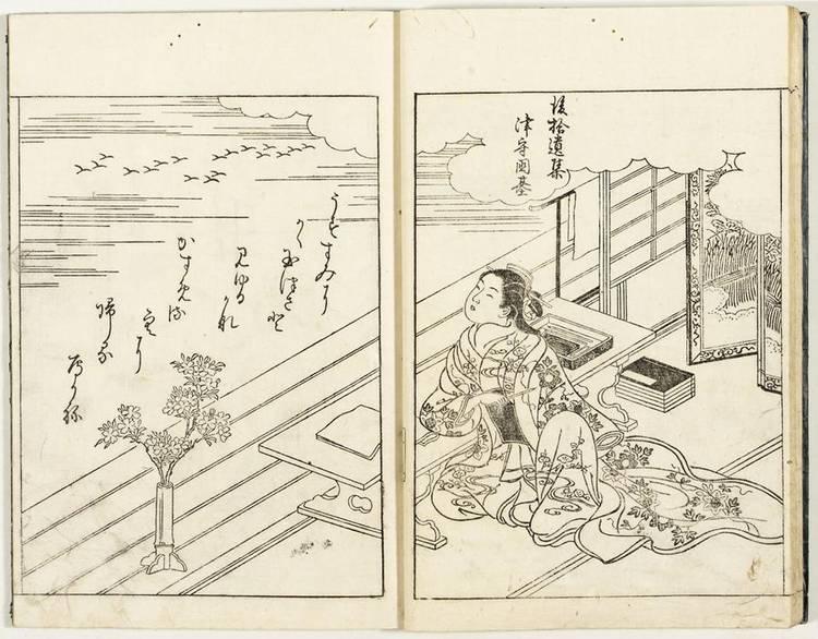NISHIKAWA SUKENOBU, (1671-1750), 1755