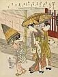 SUZUKI HARUNOBU, (1725-1770), Suzuki Harunobu, Click for value