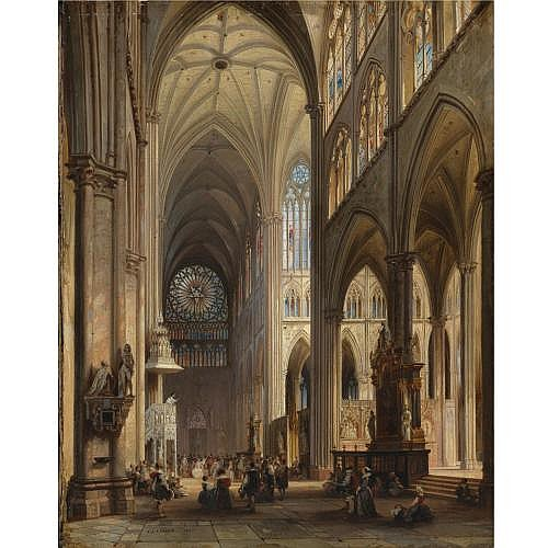 Jules Victor Genisson , Cathedral Interior