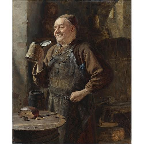 Eduard von Grützner , The Brewmaster