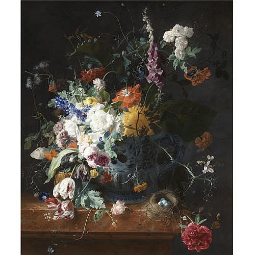 Arthur Chaplin , Floral Still Life