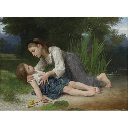 Elizabeth Jane Gardner Bouguereau , L'Imprudente