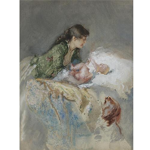 Mosè Bianchi , Maternity