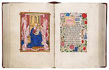 THE BUTE BOOK OF HOURS, USE OF SARUM, IN LATIN AND MIDDLE ENGLISH [ENGLAND (PERHAPS LONDON OR WINDSOR), C.1500-20] |