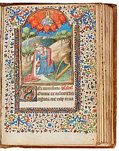 BOOK OF HOURS, USE OF ROUEN, IN LATIN AND FRENCH [FRANCE (PARIS), C.1430] |