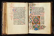 BOOK OF HOURS, USE OF ROME, IN LATIN [ITALY (PERHAPS FERRARA), C.1480] |