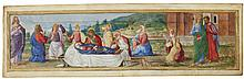 THE DORMITION OF THE VIRGIN, BORDER MINIATURE PROBABLY FROM A LARGE CHOIRBOOK [ITALY (VERONA), C.1490-1500] |